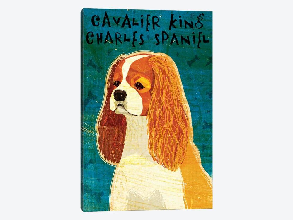 Cavalier King Charles - Blenheim by John Golden 1-piece Canvas Artwork