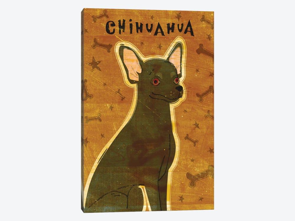 Chihuahua - Black by John Golden 1-piece Art Print
