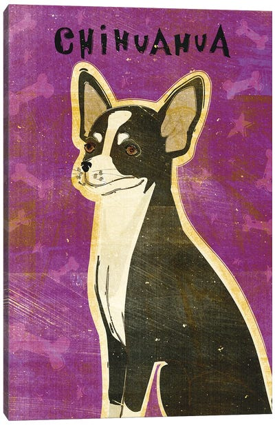 Chihuahua - Black & White Canvas Art Print