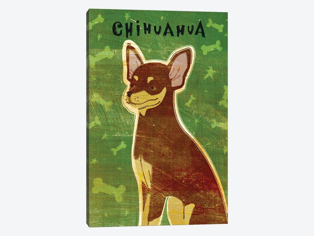 Chihuahua - Chocolate & Tan by John Golden 1-piece Canvas Art