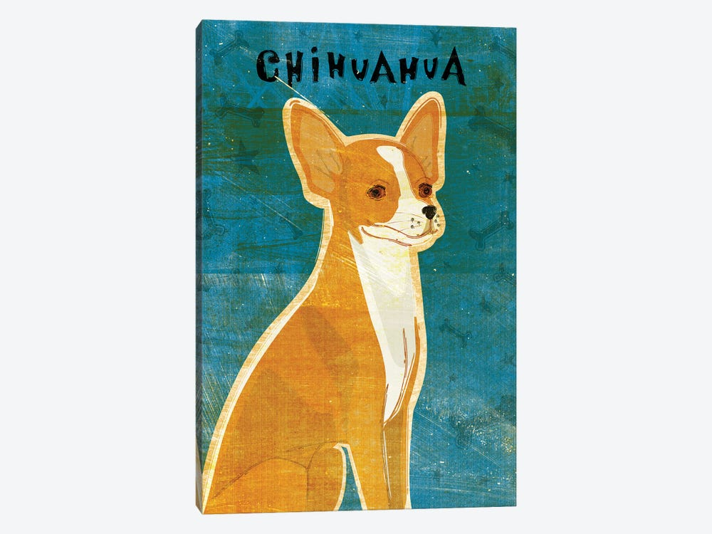 Chihuahua - Red by John Golden 1-piece Canvas Print