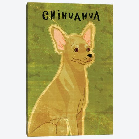 Chihuahua - Tan Canvas Print #GOL59} by John Golden Canvas Art