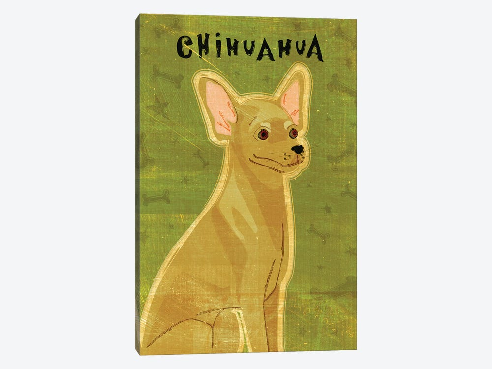 Chihuahua - Tan by John Golden 1-piece Canvas Wall Art