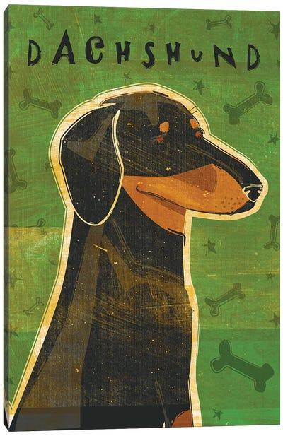 Dachshund - Black & Tan Canvas Art Print