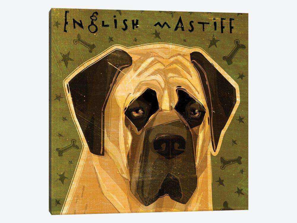 English Mastiff by John Golden 1-piece Canvas Art Print
