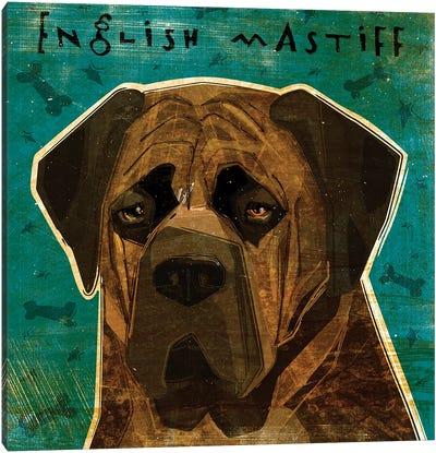 English Mastiff - Brindle Canvas Art Print