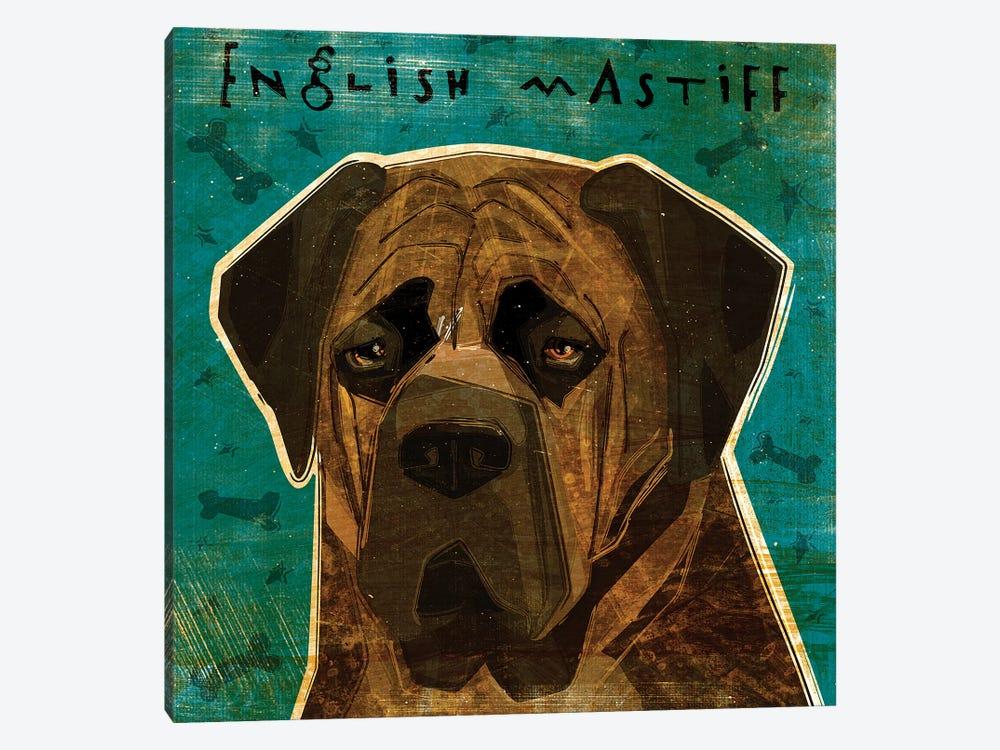 English Mastiff - Brindle by John Golden 1-piece Canvas Artwork