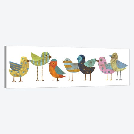 Flock I 3-Piece Canvas #GOL87} by John Golden Canvas Wall Art