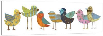 Flock I Canvas Art Print