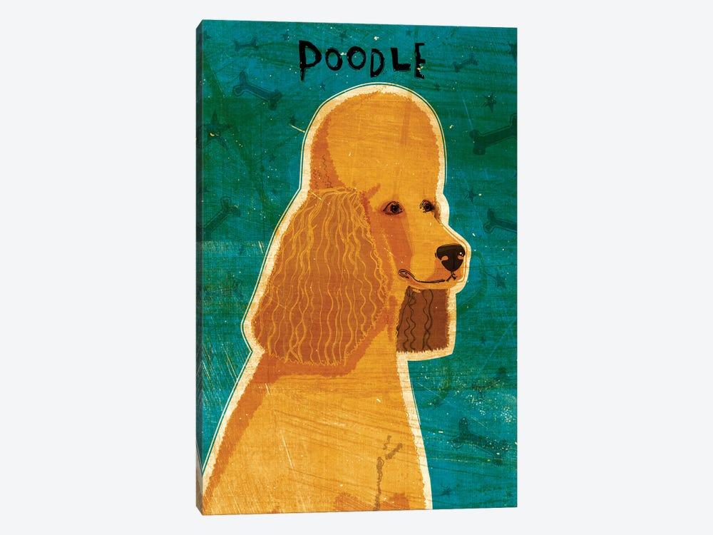 Apricot Poodle by John Golden 1-piece Canvas Art Print