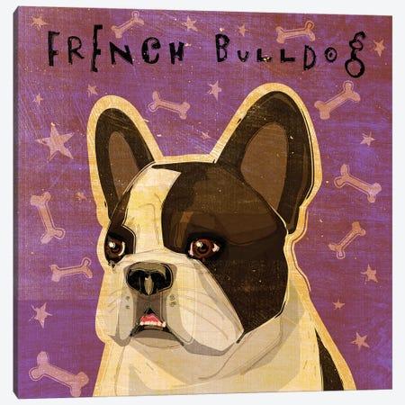 French Bulldog - Whiten Brindle Canvas Print #GOL95} by John Golden Canvas Print