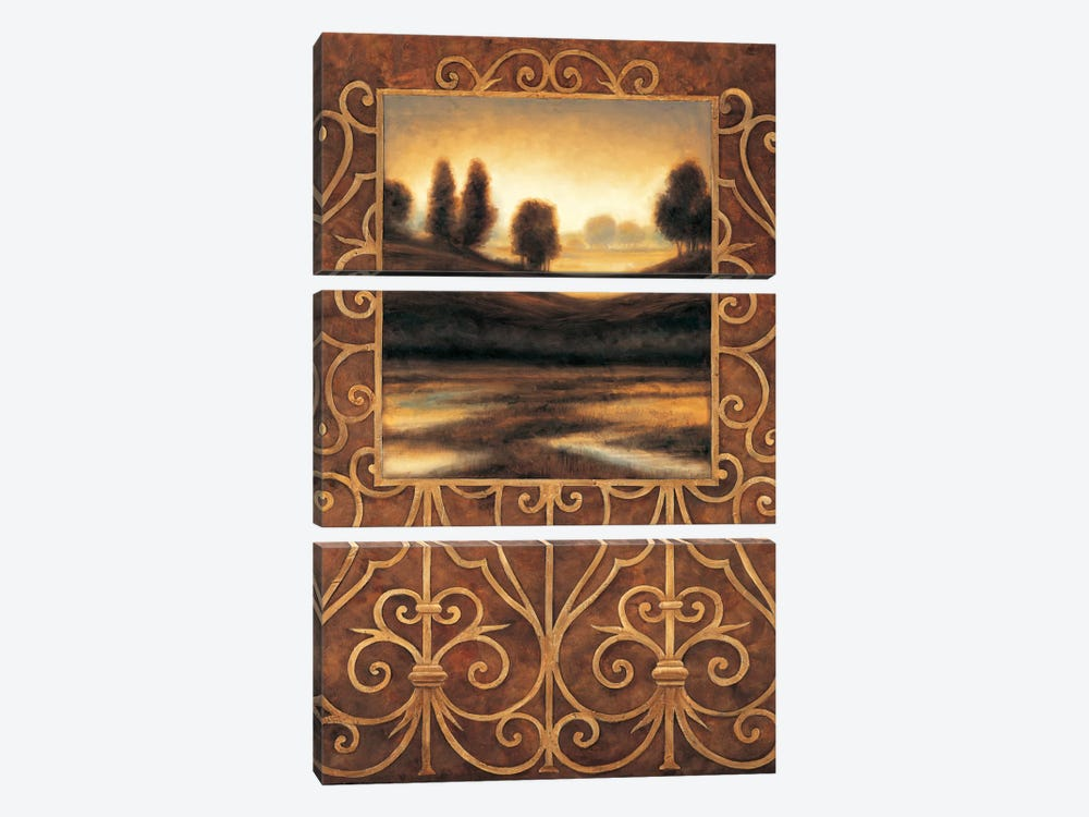 Dawn II by Andres Gonzales 3-piece Canvas Print
