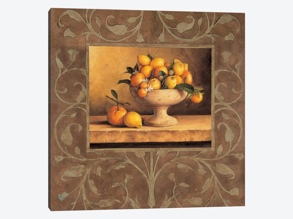 Oranges And Lemons by Andres Gonzales 1-piece Canvas Art