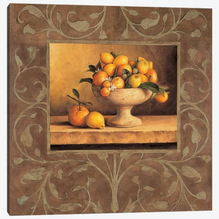 Oranges And Lemons Canvas Print #GON3} by Andres Gonzales Canvas Art Print