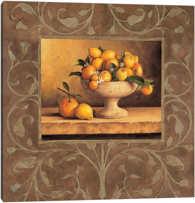 Oranges And Lemons Canvas Art Print