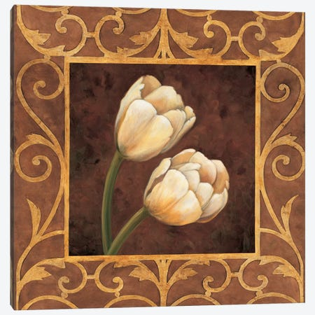 Ornamental Tulips Canvas Print #GON5} by Andres Gonzales Canvas Art