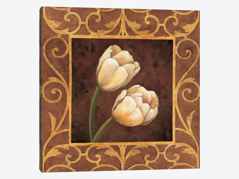 Ornamental Tulips by Andres Gonzales 1-piece Canvas Wall Art