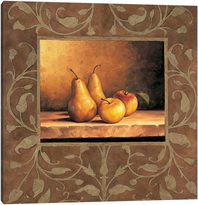 Pears And Apples Canvas Art Print