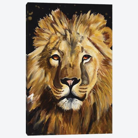 Lion Canvas Print #GOO10} by Chelsea Goodrich Canvas Print