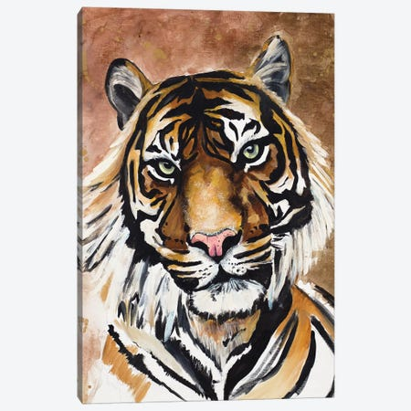 Tiger Canvas Print #GOO11} by Chelsea Goodrich Canvas Print