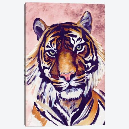 Tiger Face Canvas Print #GOO19} by Chelsea Goodrich Canvas Print