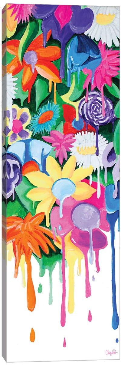 Garden Drips Canvas Art Print