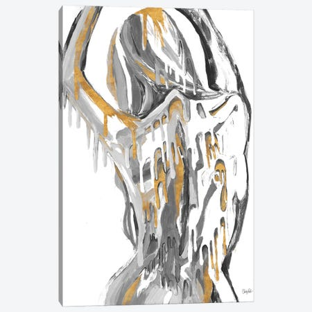 Golden Woman Canvas Print #GOO2} by Chelsea Goodrich Canvas Art