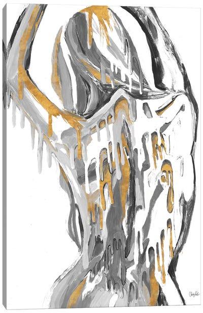 Golden Woman Canvas Art Print