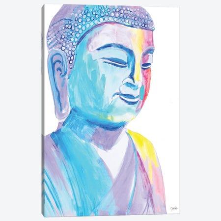 More Vibrant Buddha Canvas Print #GOO3} by Chelsea Goodrich Canvas Wall Art
