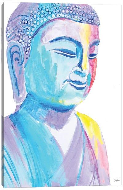 More Vibrant Buddha Canvas Art Print