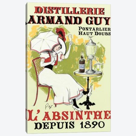 La Dame à l'ombrelle Canvas Print #GOT13} by Jean-Pierre Got Canvas Art