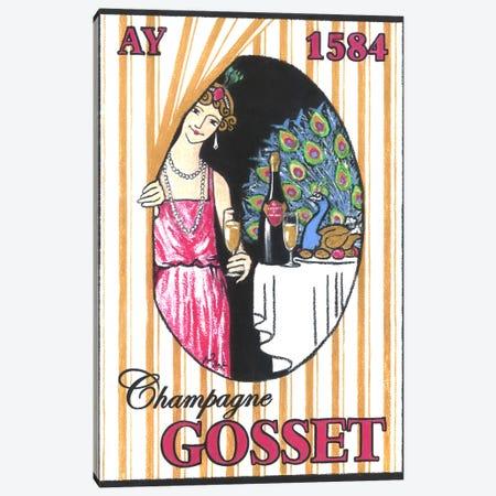 Lever de rideau Canvas Print #GOT17} by Jean-Pierre Got Canvas Art Print