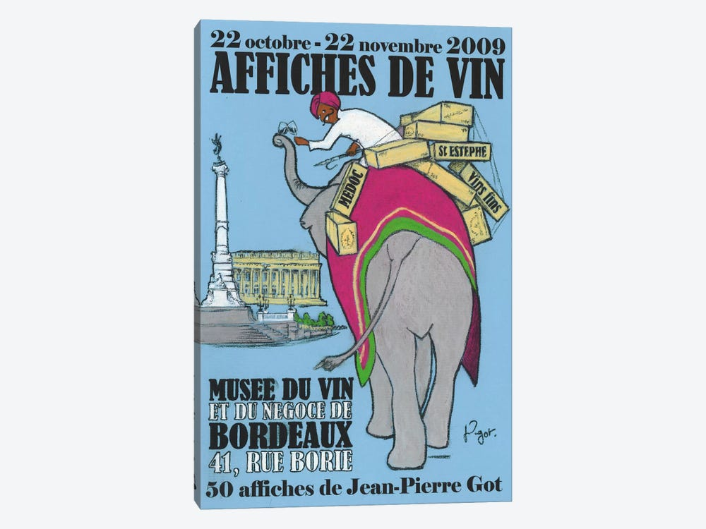 Retour des Indes 1-piece Art Print
