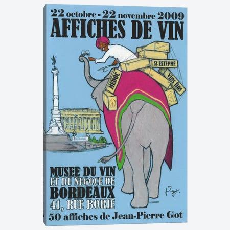 Retour des Indes Canvas Print #GOT21} by Jean-Pierre Got Art Print