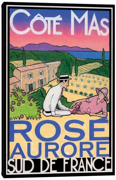 Rosé Aurore Canvas Art Print