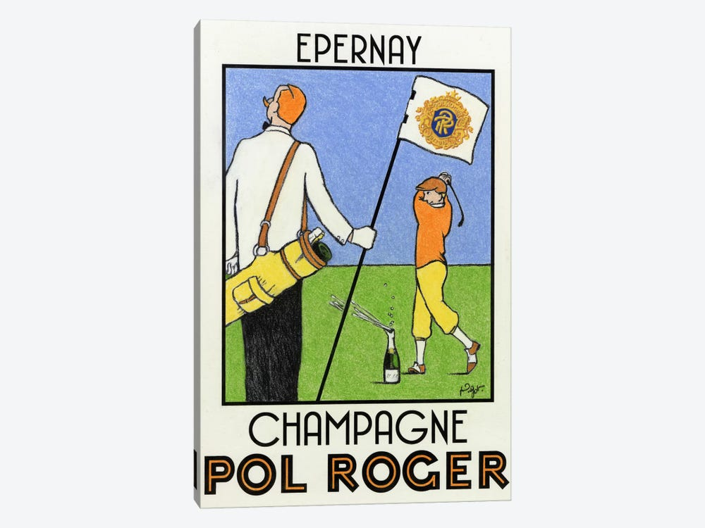 Champagne Practice by Jean-Pierre Got 1-piece Art Print