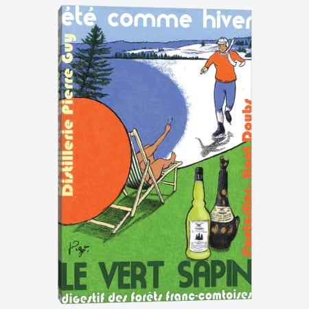 Eté comme Hiver Canvas Print #GOT8} by Jean-Pierre Got Canvas Artwork