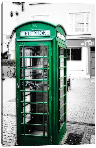 Irish Phone Booth, Kinsale, County Cork, Republic of Ireland Canvas Art Print