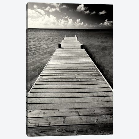 Jetty Perspective, Georgetown, Grand Cayman Island, British West Indies Canvas Print #GOZ106} by George Oze Canvas Print