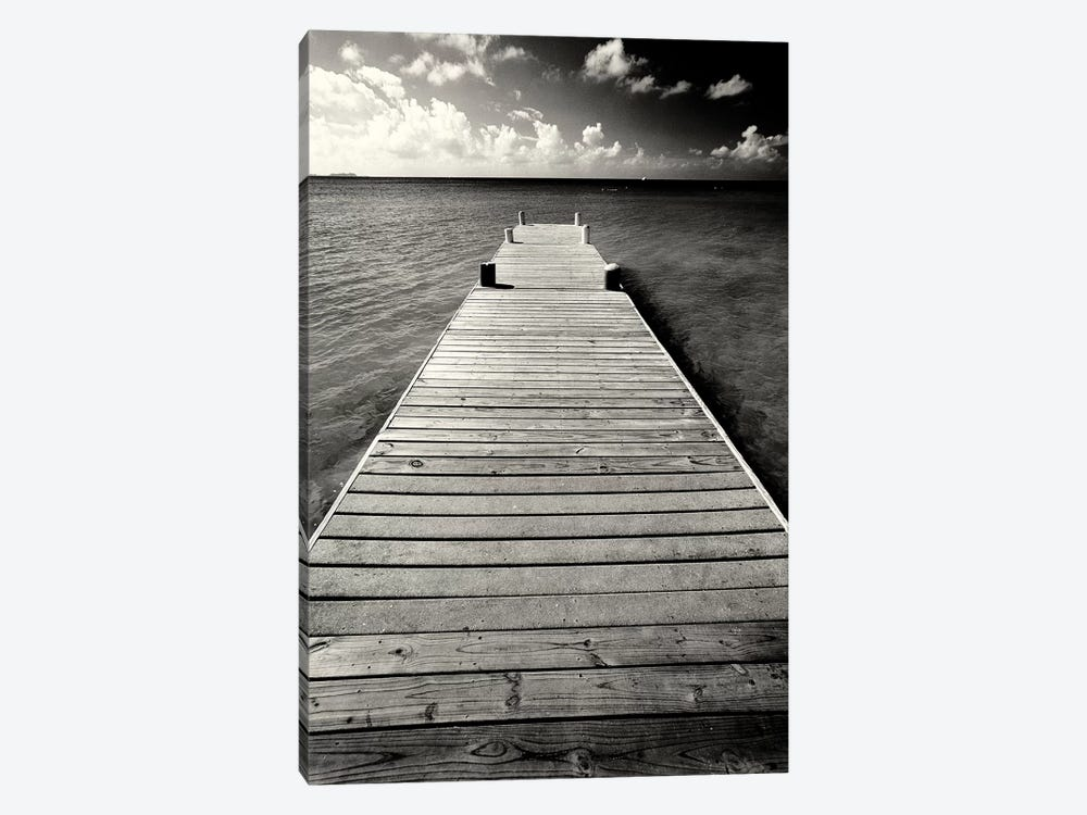 Jetty Perspective, Georgetown, Grand Cayman Island, British West Indies by George Oze 1-piece Canvas Art
