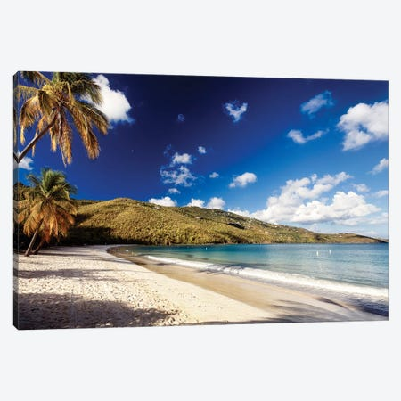 Magens Bay Morning, St. Thomas, US Virgin Islands Canvas Print #GOZ125} by George Oze Canvas Print