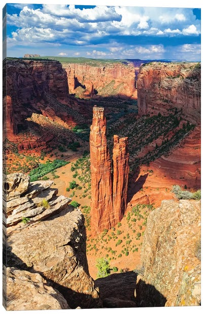 Spider  Rock Canyon de Chelly, Arizona Canvas Art Print