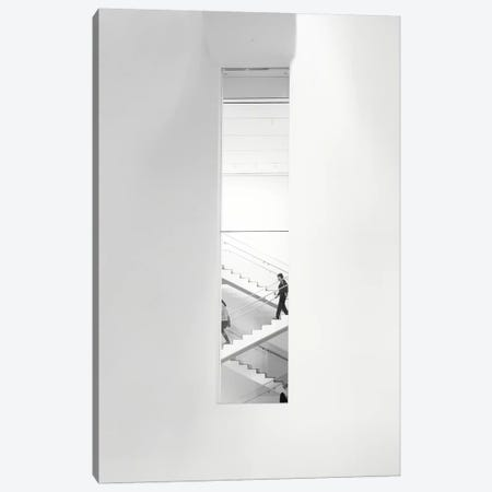 Urban Staircase Canvas Print #GOZ216} by George Oze Canvas Print