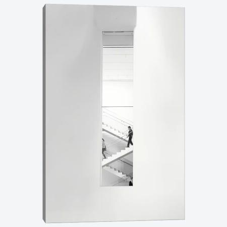 Urban Staircase Canvas Print #GOZ216} by George Oze Canvas Print