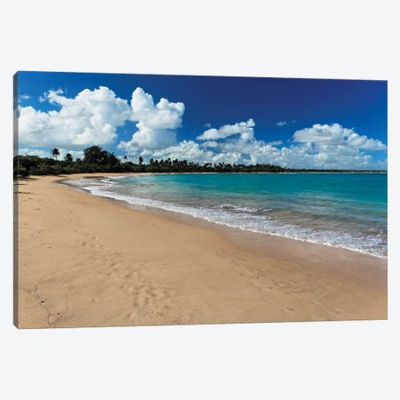 Vacia Telaga Beach, Puerto Rico Canvas Print #GOZ217} by George Oze Art Print