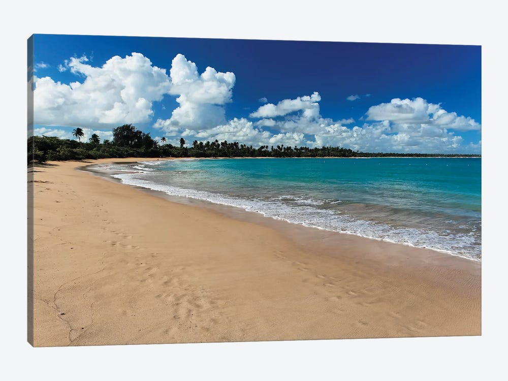 Vacia Telaga Beach, Puerto Rico by George Oze 1-piece Canvas Art