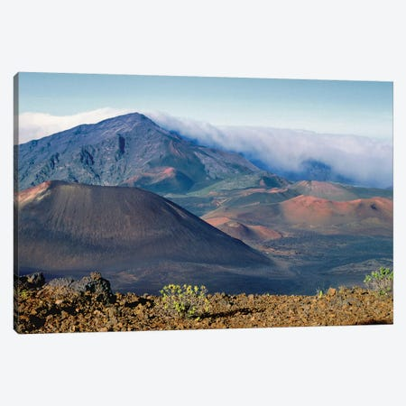 Volcanoes of Haleakala National Park, Maui, Hawaii Canvas Print #GOZ229} by George Oze Canvas Print
