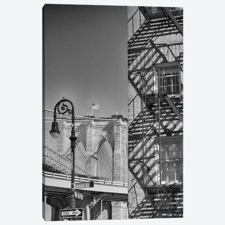 Quintessential New York City Impression Canvas Print #GOZ307} by George Oze Canvas Art Print