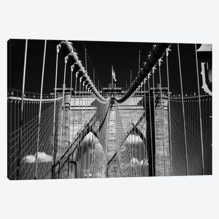 Brooklyn Bridge Impression Canvas Print #GOZ309} by George Oze Canvas Art
