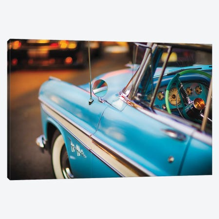 Cruising With My Desoto Firedome Canvas Print #GOZ318} by George Oze Art Print